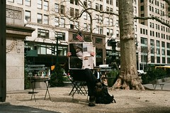 NY times (moetion.pictures) Tags: nyc bryant park film fujicolor nikon f100