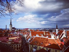 Tallinn  is the capital and largest city of Estonia. It is situated on the northern coast of the country, on the shore of the Gulf of Finland, 80 km south of Helsinki, east of Stockholm and west of Saint Petersburg in Harju County.  #tallinn #estonia #eur (abypalackal) Tags: europe instacloud travellgram instalikes estonia enjoying tallinn awesome everymoment instaclick balticcountries europeancities traveller exploring instapic like wanderlust instagram mallugram place thankgod travelgram