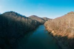 Overlook from bridge