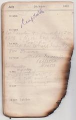 12-18 Jul 1915 (wheresshelly) Tags: ww1 wwi world war 1 australia gallipoli egypt military australian 4th field ambulance anzac morton wilfred