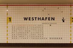(paul.horsefield) Tags: westhafen ubahnstation berlin