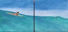 TheMomentBefore (gardenstatesurfer) Tags: surfing longboarding bogart surf art