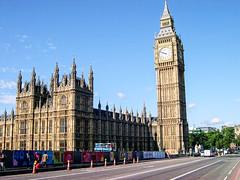 Houses Of Parliment. (Cycling Saint) Tags: london londoneye westminsterbridge nikoncoolpix4300