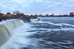 Rideau Falls (MRD Images) Tags: rideaufalls river ottawariver sky hull gatineau quebec ontario longexposure slowshutter rideau ottawa canada spring april canon eos 5d markiv