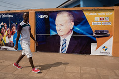 Bill O'Reilly 6538 (yospyn) Tags: billoreilly theoreillyfactory foxnews billboard sierraleone freetown newsfigure sexualharassment