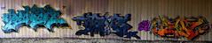 Pener   •  Spyr  • Pest (HBA_JIJO) Tags: streetart urban graffiti art france hbajijo wall mur painting letters peinture lettrage lettring writer spray urbex p19 pest paris91 pener penner