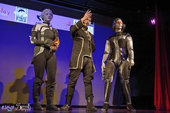 Comicdom Con Athens 2017: On stage: group cosplays (SpirosK photography) Tags: comicdomcon comicdomcon2017 comicdomconathens2017 athens greece convention spiroskphotography cosplay costumeplay onstage stage performance videogamecharacter game videogame