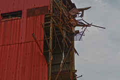 Twisted Metal (brutus61534) Tags: red steel metal twisted ruin factory mill rusted