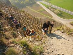 Aufstieg Calmont (Jörg Paul Kaspari) Tags: eller diecalmonttour frühling spring april calmont calmontklettersteig wanderung wandertour aufstieg