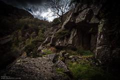Cave (DJNanartist) Tags: nikond750 nikon28300mm lakedistrict anartist borrowdale derwentwater castlecrag