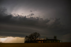 Later That Night (thefisch1) Tags: lightning themal storm developing pasture kansas roll cloud home