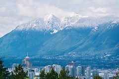 Vancouver (_Ruby Huang_) Tags: vancouver yvr vancity landscape mountains sea city stayandwander nikon d800 200mm snow spring new season home love beautiful pnw downtown view mountain veryvancouver vancitybuzz