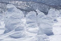 Ice Monster (bamboo_sasa) Tags: 蔵王 熊野岳 刈田岳 百名山 樹氷 御釜 宮城 山形 東北 白石 山 雪 冬 日本 zao kumanodake kattadake okama miyagi yamagata mountain snow winter japan ice monster tohoku