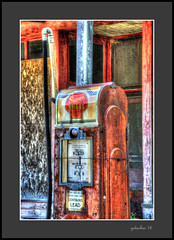 Super Shell at Kilmanagh (the Gallopping Geezer '4.5' million + views....) Tags: generalstore store business storefront gas fuel shell pump gaspump abandoned weathered decay decayed worn faded neglected derelict crossroads rural country kilmanagh mi michigan thumb baclroads backroad roadtrip canon geezer 2016