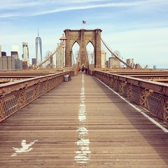 Brooklyn Bridge (pong0814) Tags: brooklynbridge nyc newyorkcity architecture iphone5s iphone iphoneography cameraphone instagram filter bridge city bigapple april 2017 spring travel travelphotography vacation outdoors