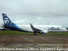 Embraer E-175 (E-170-200/LR) (Marco Zappatori's Agency) Tags: embraer e175 horizonair alaskaairlines n622qx robertoantenore marcozappatorisagency prezk