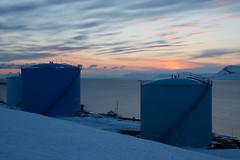 Studie in blau... (Prokura) Tags: longyearbyen spitzbergen svalbard spitsbergen winter arktis blau bule snow ice schnee seascape