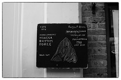 Mark Ernestus' Ngadda Rhythm Force @ Cafe Oto, London, 22nd April 2017 (fabiolug) Tags: blackboard billboard board cafeotoblackboard ashwinst ashwinstreet handwriting handwritten markernestusngaddarhythmforce ngaddarhythmforce markernestus cafeoto london dalston music gig performance concert live livemusic leicammonochrom mmonochrom monochrom leicamonochrom leica leicam rangefinder blackandwhite blackwhite bw monochrome biancoenero voigtlandernoktonclassic35mmf14 voigtlandernokton35mmf14 voigtlander35mmf14 35mm voigtlander