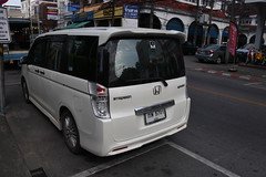 Honda Stepwgn Sport (D70) Tags: honda stepwgn stylised midsized mpv produced sport the fifth generation introduced april 2015 with allnew 15liter direct injection vtec turbo engine fifthgeneration step wgn features functional cabin space well innovative tailgate mechanism called waku gate