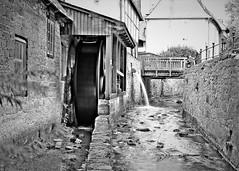 water mill (O.Krüger) Tags: goslar niedersachsen deutschland germany fluss sw schwarzweis bw bianconero blackwhite monochrom river wassermühle watermill