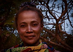 Serene Woman, Madagascar (Rod Waddington) Tags: africa afrique madagascar malagasy ifaty serene woman portrait outdoor people face closeup trees culture cultural