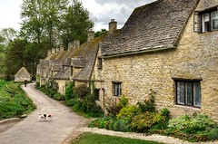 Arlington Row, Bibury, Gloucestershire (Baz Richardson (trying to catch up again!)) Tags: gloucestershire bibury arlingtonrow nationaltrust cottages medievalbuildings gradeilistedbuildings cotswolds