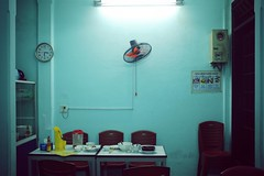 Vegetarian Restaurant - Hue, Vietnam (polybazze) Tags: fuji fujifilm x100t hue vietnam summer vacation urban asia travel unseco heritage green res