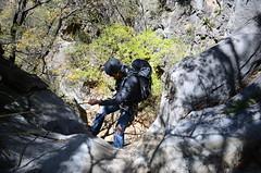 Gerard (::: Mer :::) Tags: sierrazapaliname coahuila cañondesanlorenzo rapel rappel outdoors mountains montañas cerros hiking montañismo caminata naturaleza nature canyon
