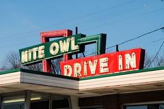 Nite Owl Drive In, Milwaukee Wisconsin (Cragin Spring) Tags: niteowldrivein niteowl drivein restaurant neon neonsign vintage vintagesign oldsign sign building midwest milwaukee milwaukeewi milwaukeewisconsin wisconsin wi city urban
