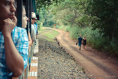 En el tren (Angela MGM) Tags: parquenacionaliguazú brasil argentina iguazú naturaleza landscape paisaje agua cascada viaje lugares travel natural
