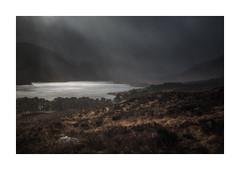 Incoming (Vemsteroo) Tags: scotland lochaffric glenaffric storm rain weather dramatic loch water light epic awesome highlands mountains mountainscape scottish fuji fujifilmxt2 telephoto circularpolariser 50140mm hiking outdoors travel