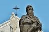Hieronymus & Maria in Bethlehem (JERRY TAHA PHOTOGRAPHY) Tags: israel palestina bethlehem churchofnativity hieronymus maria mary jerome statue geboortekerk ישראל فلسطين بيت لحم