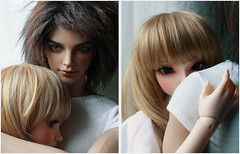 date7 (babychan80) Tags: real couple doll skin chloe sd claude bjd fairyland 65 iplehouse feplee