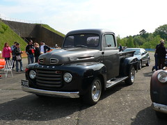 Ford pick-up, 738 UXG (acd40) Tags: ford pickup cruisemissile gama rafgreenhamcommon