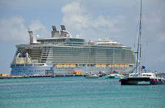 Allure of the Seas (Eric Holmes) Tags: ocean cruise sea islands ship royal caribbean allure rci allureoftheseas