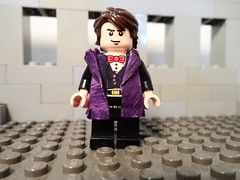 The Eleventh Doctor [With Overcoat Better Lighting] (Fithboy) Tags: star lego who lol name cant spell doctor wars clone gallifrey i fithboy fitbhoy