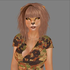 Lioness Kikibi (Alea Lamont) Tags: animal cat african avatar tail lion ears whiskers neko lioness afrikan ndmd