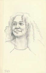 "5.25"" x 3.25"" (Stephen Ford art) Tags: portrait pencildrawing"