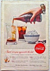1950s  Vintage Coca Cola Advertisement From National Geographic Back Page 15 (Christian Montone) Tags: vintage ads advertising coke americana soda cocacola advertisements sodapop vintageads vintageadvert