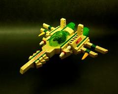 Lichen 2 (SuperHardcoreDave) Tags: lego tech space attack vessel future scifi weapons moc starfighter spacefighter