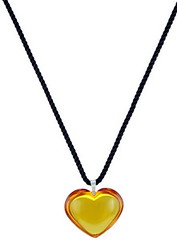 Baccarat Glamour Heart Parma Topaz Pendant 2102972 (luxuryjug.com) Tags: baccarat newitems bestpricebaccarat lowestpricesbaccarat 2102972 baccarat2102972