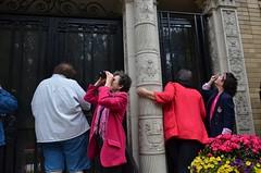 Code Pink NSA protest at Sen Dianne Feinstein's house (Steve Rhodes) Tags: senator protest spy snowden codepink spying nsa whistleblower spys diannefeinstein uploaded:by=flickrmobile flickriosapp:filter=nofilter edwardsnowden