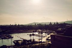Tantas cosas (laororo) Tags: barcelona summer puerto harbour bcn