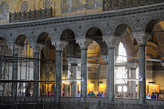 Aya Sofya (Rubn Hoya) Tags: santa turkey aya sofia turkiye iglesia istanbul mezquita turquia biblia bizantino estambul mosaicos sofya bizancio constantinopla