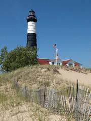 Big Sable Point (elryerson85) Tags: lighthouse fuji michigan lakemichigan greatlakes fujifilm x20 ludington ludingtonstatepark lightstation bigsable bigsablepoint greatlakeslighthouses fujix20
