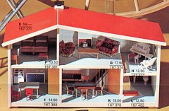 Epis DOr 1970 p17 Lundby dolls house w Lundby furniture (Rebecca's Collections) Tags: toy toys 70s coop 1970 1970s catalogue dollhouse dollshouse dollshousefurniture lundby vintagedollshouse épisdor vintagedollshousefurniture