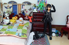 hide and go seek (Yami Usagi) Tags: art toy figure online sword figurine sao kirito nendoroid figma