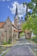 "Oostpoort in Delft • <a style=""font-size:0.8em;"" href=""http://www.flickr.com/photos/45090765@N05/9271400442/"" target=""_blank"">View on Flickr</a>"