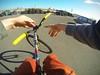 Barspin (Will van Wingerden) Tags: sky bike ride fixed fixie edit chesty gopro hero3 goprocamera