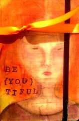 Be YOU tiful (Kim Schuster) Tags: journal journalcover panpastels journalartjournal